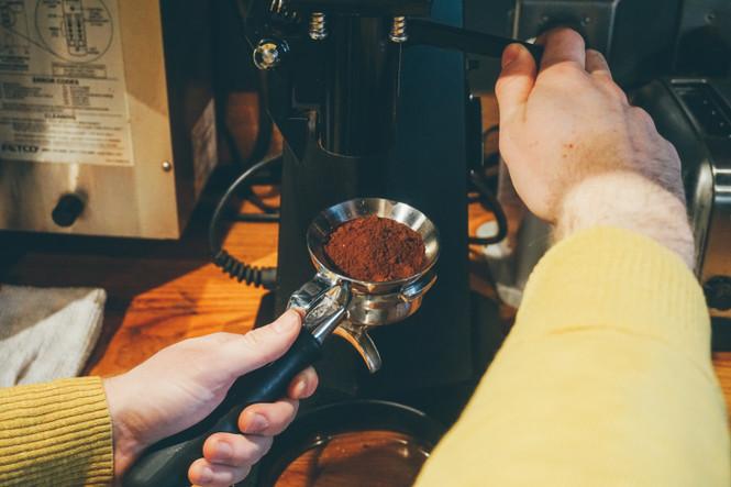 Coffee Catcha Espresso Dosing Funnel