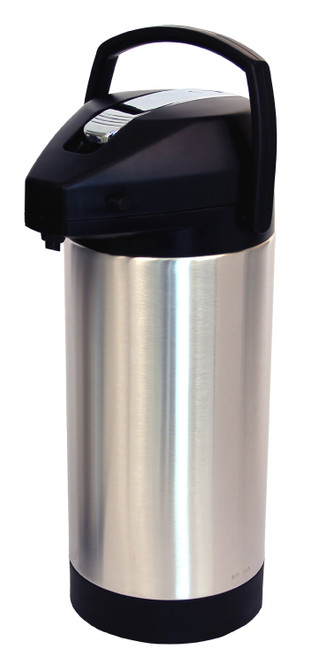Fetco D063 - 1 Gallon Stainless Steel Lined Lever Airpot