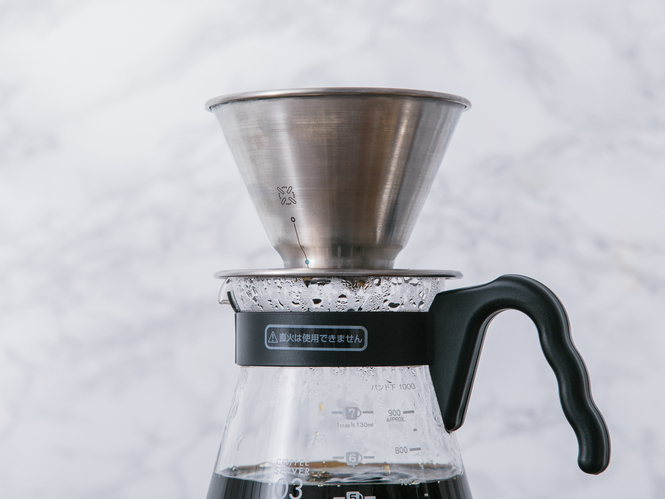 December Coffee Dripper Brew