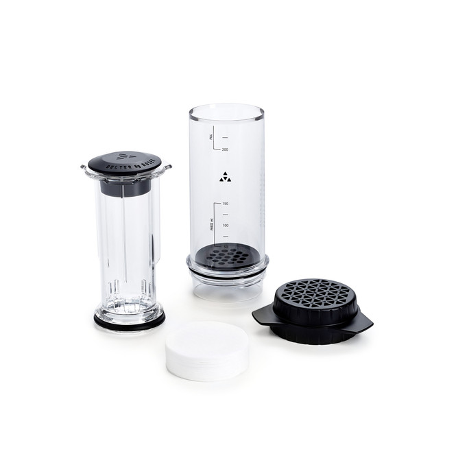 Delter Coffee Press All Pieces