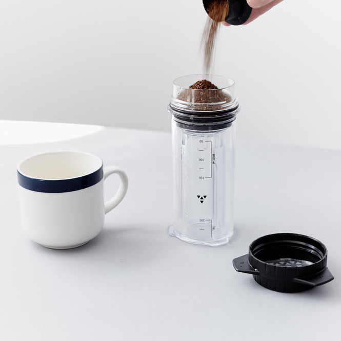 Delter Coffee Press Add Ground Coffee