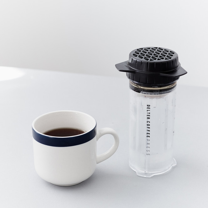 Delter Coffee Press Brewed Coffee
