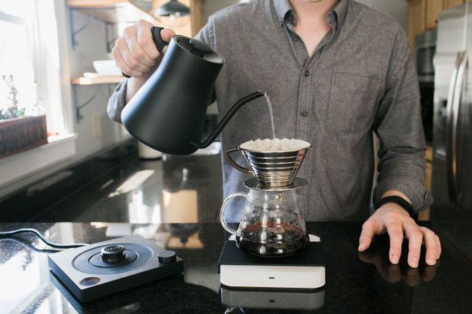 Fellow Stagg EKG Electric Variable Temperature Pouring Kettle for the Home or Cafe