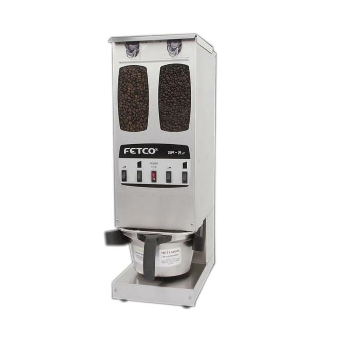 Fetco GR-2.2 - Portion Controlled Coffee Grinder - Dual Hopper