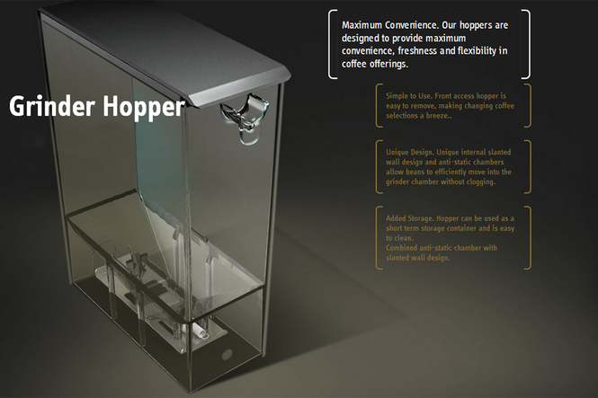 Picture of Advanced Grinder storage hopper