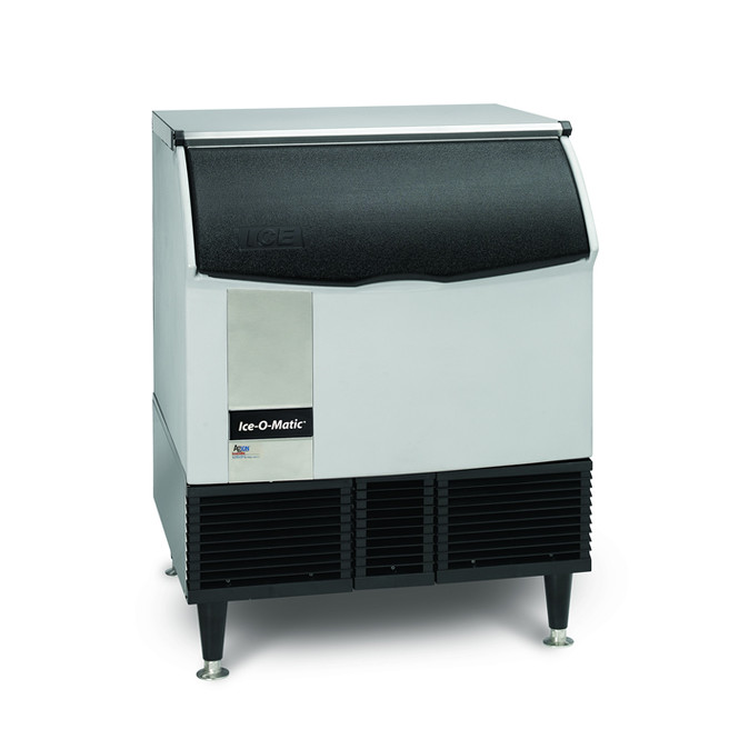 309 lbs/day Cube Ice Maker w/Storage Bin - Ice-O-Matice ICEU300FA