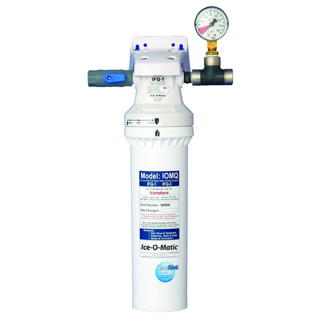 IFQ1 Ice-O-Matic Single Filter Water Filtration System