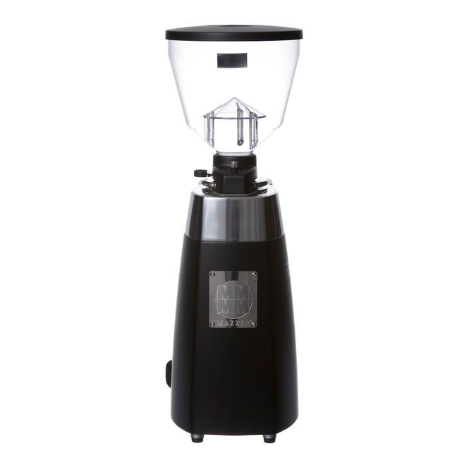Electronic Conical Burr Espresso Grinder Black Back