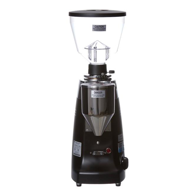 Electronic Conical Burr Espresso Grinder Front Black