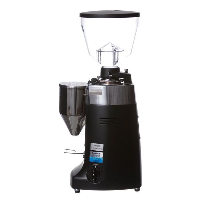 Electronic Conical Burr Espresso Grinder Black Left