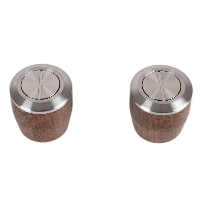 La Marzocco walnut knobs
