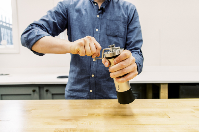OPEN BOX - NEW | Kinu M47 Manual Coffee and Espresso Grinder