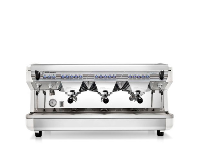Nuova Simonelli Appia II Volumetric Automatic 3 Group Espresso Coffee Machine