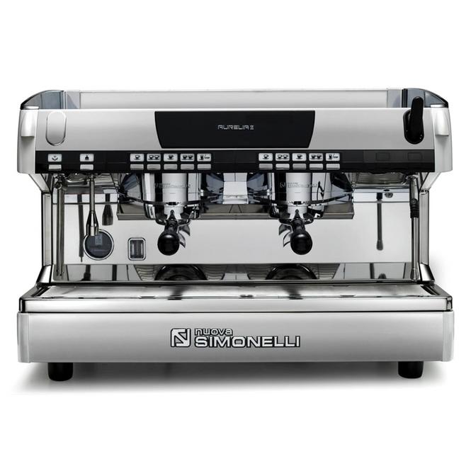 Nuova Simonelli Aurelia II Automatic Volumetric 2 Group Espresso Machine