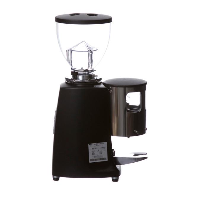 Black Mazzer Mini Espresso Grinder Right