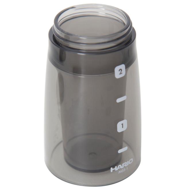 Hario Coffee Grinder Mini Mill Slim Plus Grinds Bin