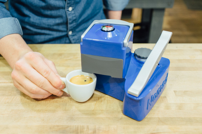 Uniterra Nomad Espresso Maker Crema