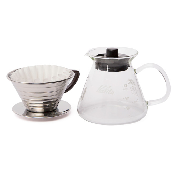 Kalita Wave Pour Over Setup