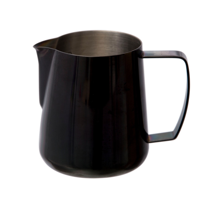 Side view of the Barista Hustle Precision Milk Pitcher