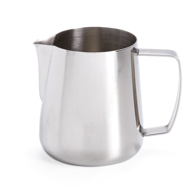 Barista Hustle Precision Milk Pitcher, Stainless Steel