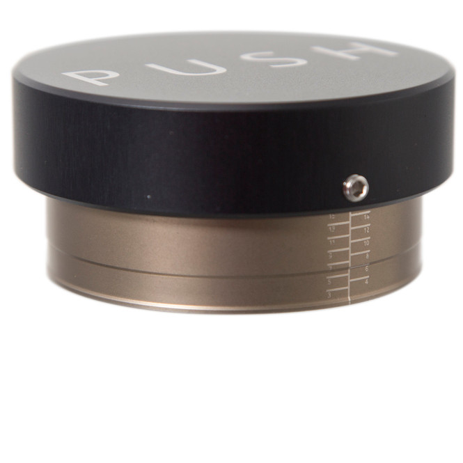 Clockwork Espresso Push Tamper Black Height