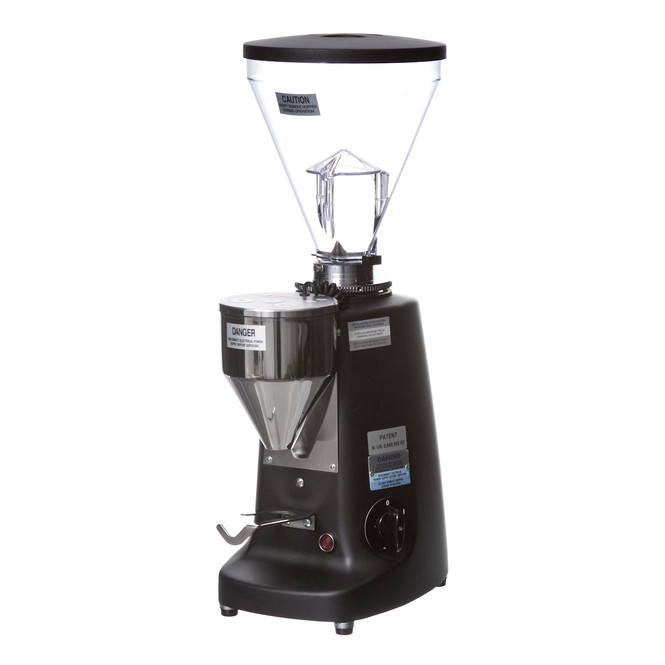 Mazzer Super Jolly Electronic Doserless Espresso Grinder Black