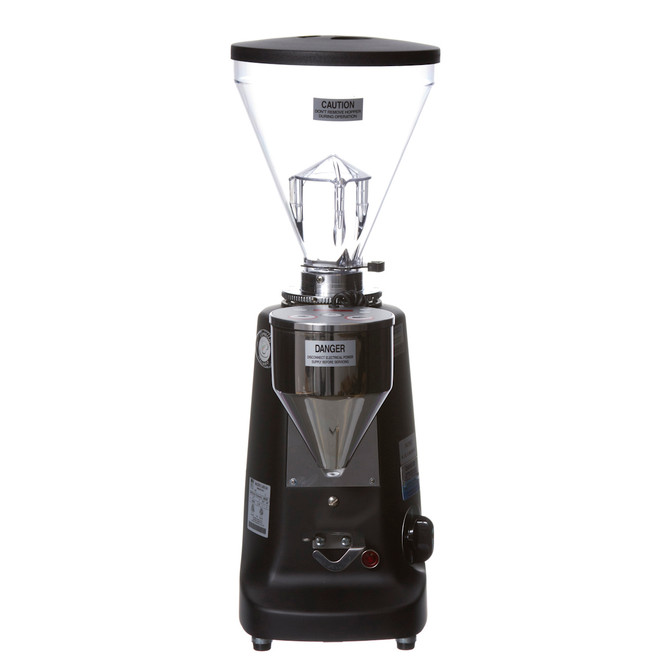 Mazzer Super Jolly Electronic Doserless Espresso Grinder Black Front