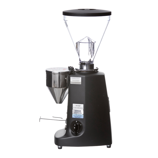 Mazzer Super Jolly Electronic Doserless Espresso Grinder black Left
