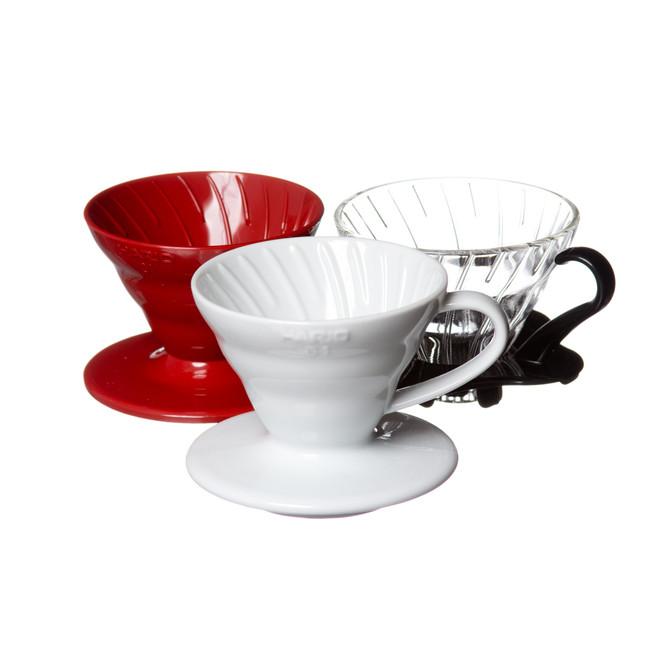 Red, black, and white glass V60 01