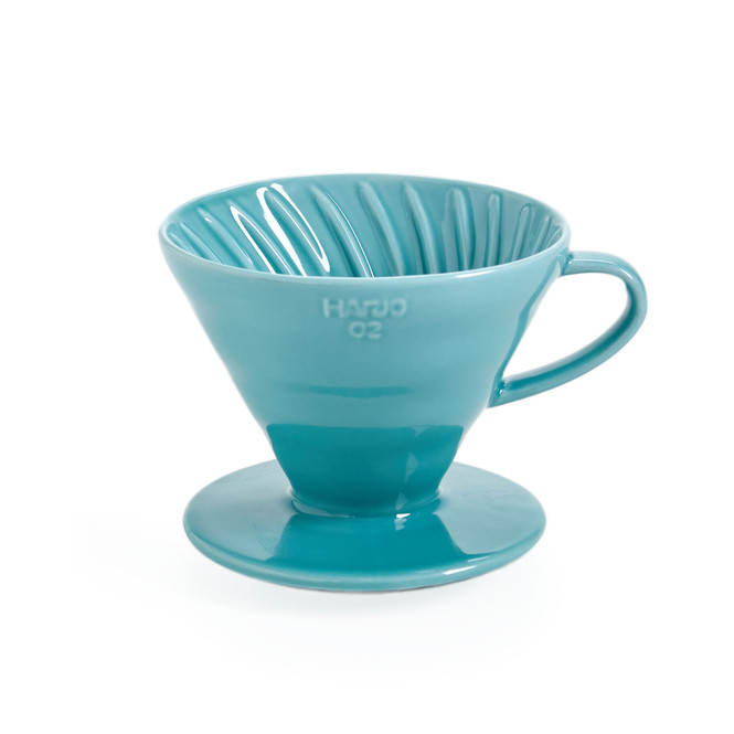 Hario V60 Coffee Dripper 02, Turquoise