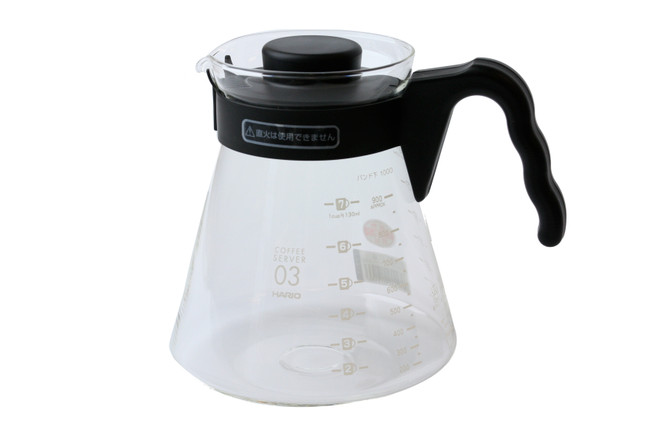Hario 1000ml glass coffee server