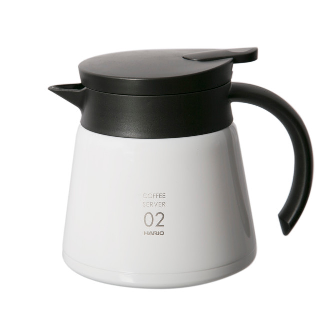 Hario VHS-60 600ml Thermal Carafe (White)