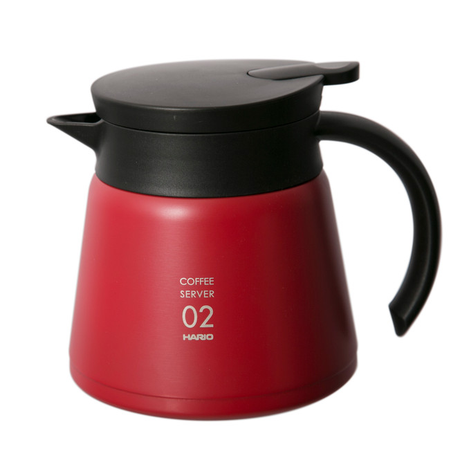 Hario VHS-60 600ml Thermal Carafe (Red)