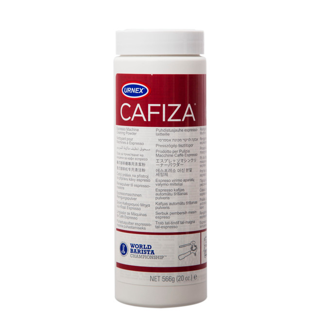 Cafiza Espresso Machine Cleaning Powder Front