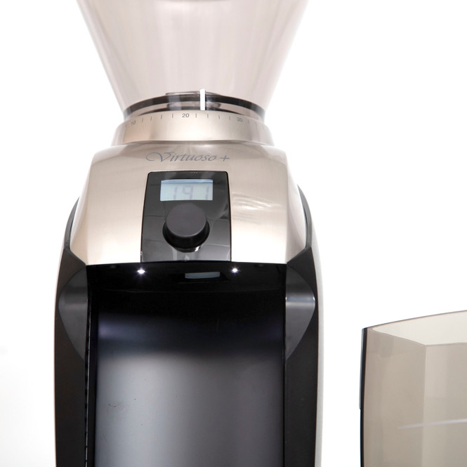 Baratza Virtuoso+ Conical Burr Coffee Grinder Doser