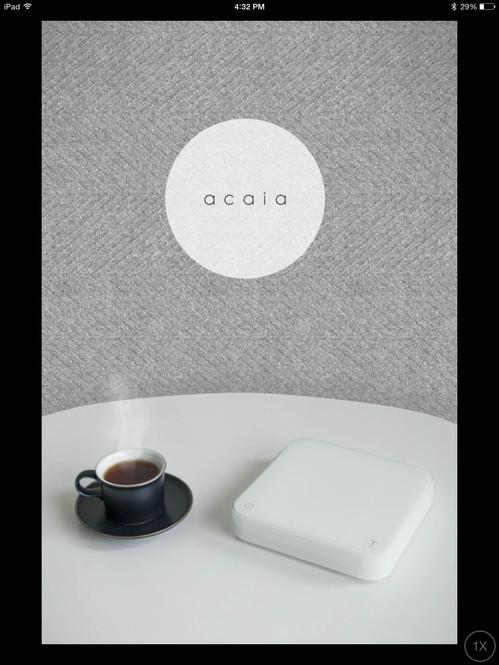 Acaia Brewing Scale Mobile App