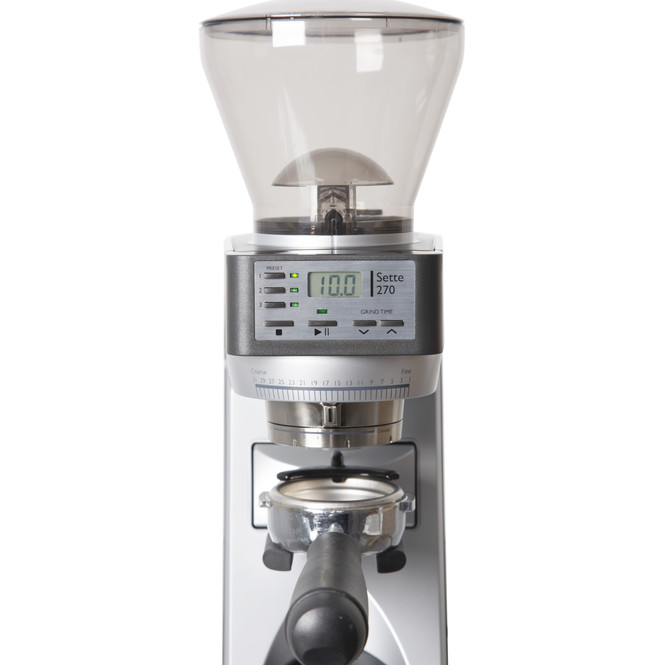 Baratza Sette 270 Conical Burr Coffee and Espresso Grinder Front View Control Panel