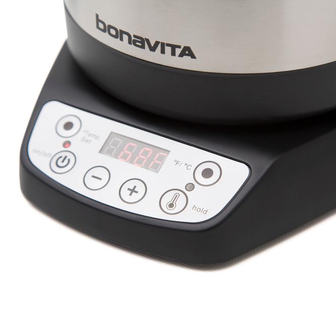 Bonavita Variable Temperature Electric Pouring Kettle - 1.7 Liter Controls