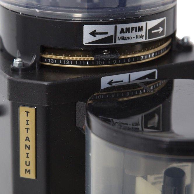 SCRATCH & DENT - EXCELLENT | Anfim Super Caimano Barista Espresso Grinder w/ Titanium Coated Burrs