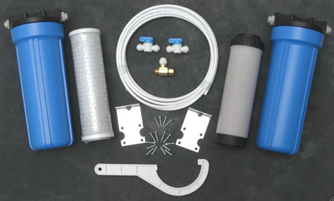 Direct Connect Water Filtration and Softening System
