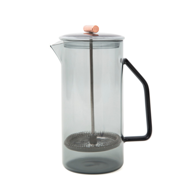 Yield Glass Grey French Press Design