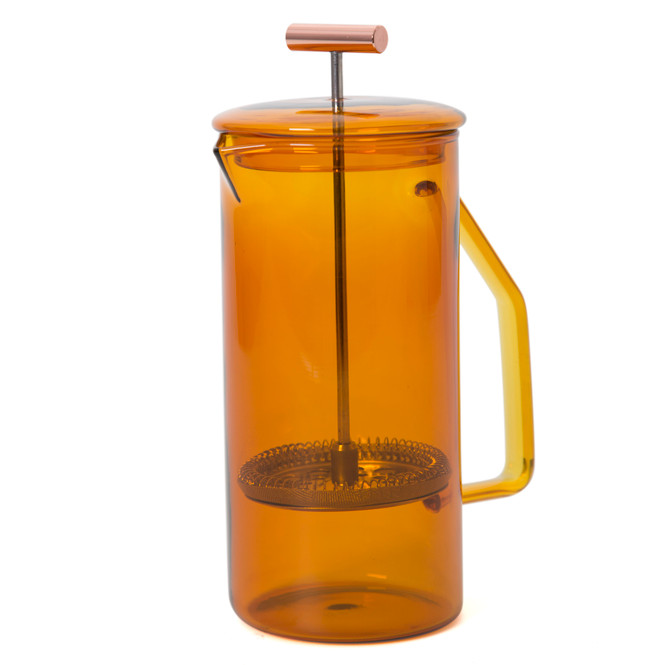Yield Glass Amber French Press