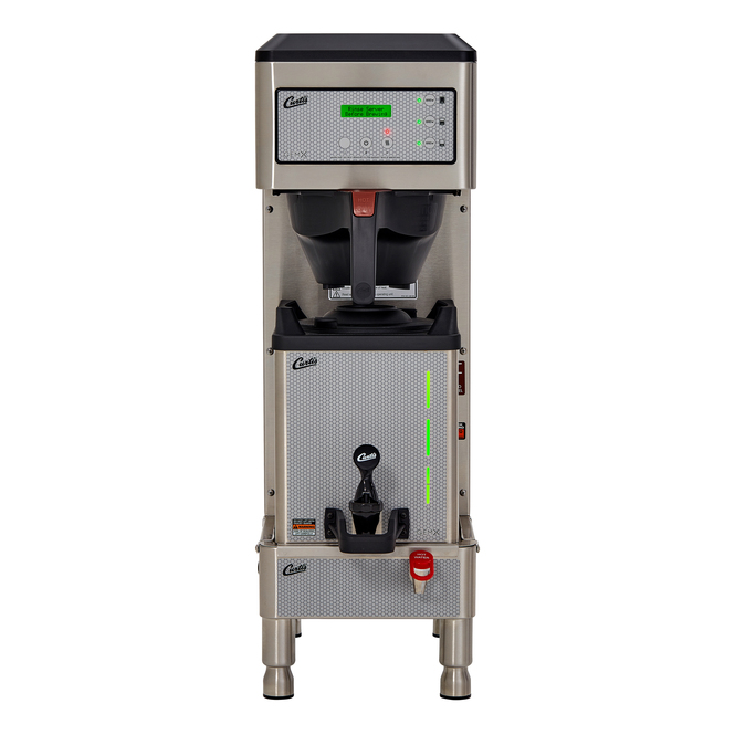 Curtis G3 GemX Gemini IntelliFresh Single 1.5 Gallon Coffee Brewer with FreshTrac Satellite
