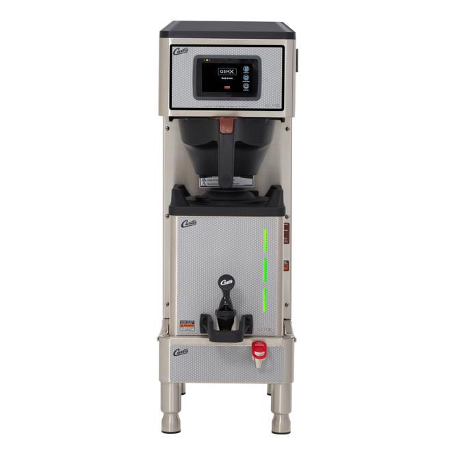 Curtis G4 GemX Gemini IntelliFresh Single 1.5 Gallon Coffee Brewer with FreshTrac Satellite