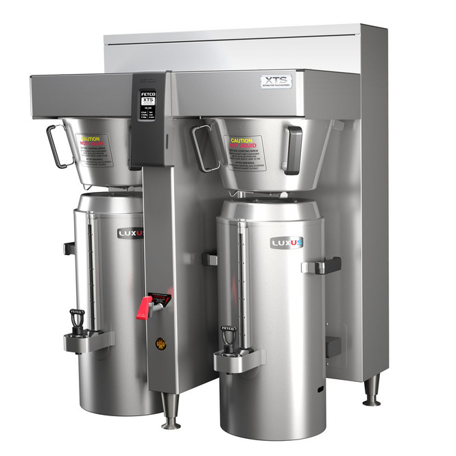 Fetco CBS-2162XTS - Extractor Brewing System - Twin Station 3 Gallon