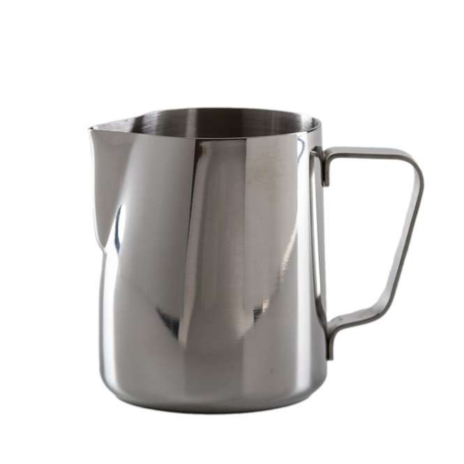 JoeFrex Teflon Steaming Pitcher 12oz Stainless Steel
