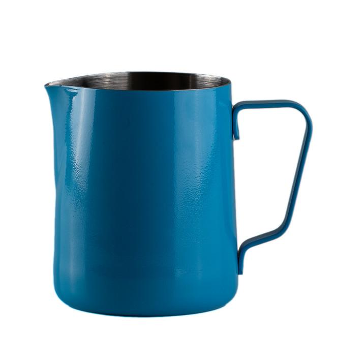 JoeFrex Teflon Steaming Pitcher 20oz Blue