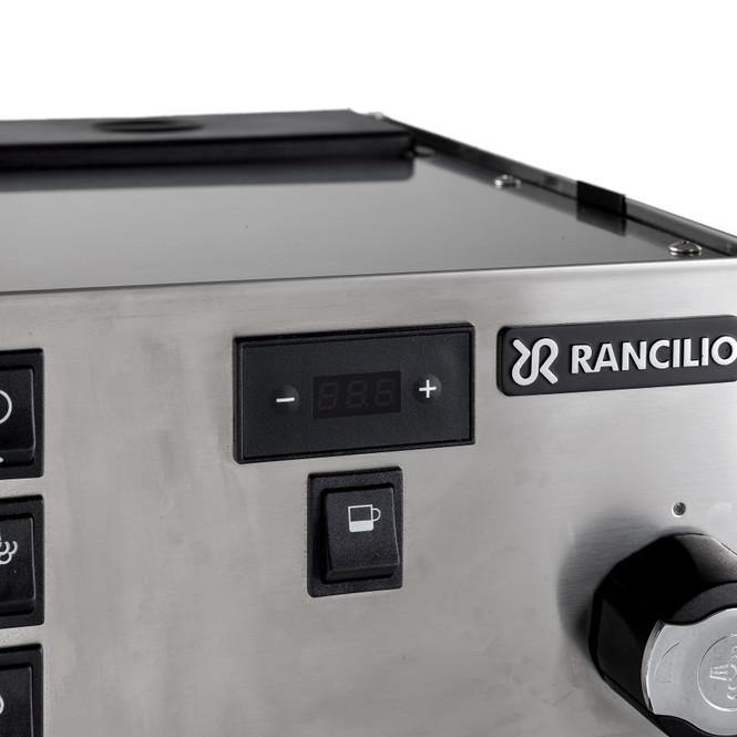 Rancilio Silvia Pro Espresso Machine Main Menu Screen