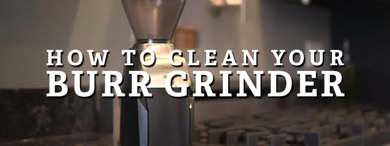 burr grinder cleaning blog post
