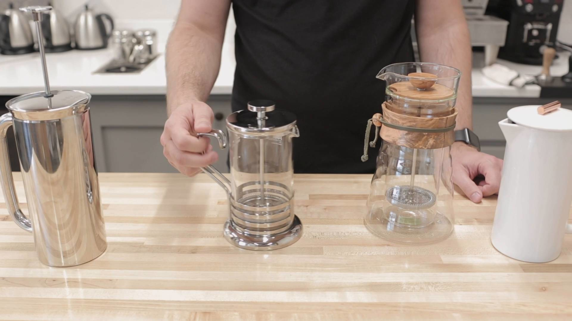 French Press Comparisons